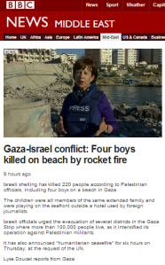 BBC's Doucet fails to inform audiences of terrorist activity in Gaza port