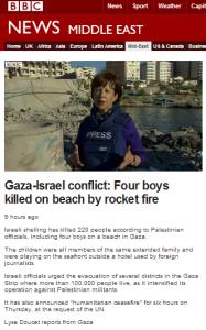 Doucet Gaza report 16 7
