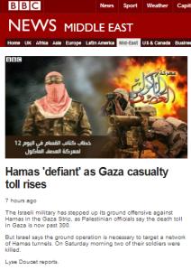 Doucet Hamas defiant filmed 19 7