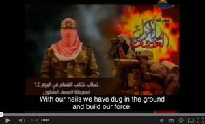 Doucet Hamas defiant orig vid