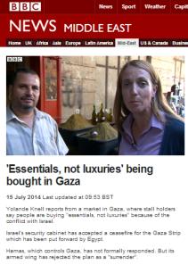 Knell 15 7 market Gaza