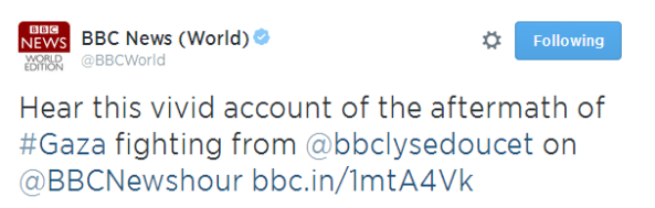 "BBC's Doucet promotes and amplifies Hamas ""massacre"" propaganda on WS radio"
