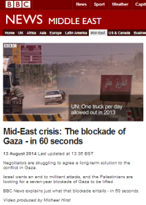 BBC News' blockade backgrounder not fit for purpose