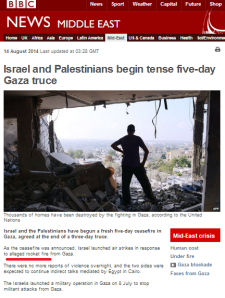 How the BBC made missile fire from the Gaza Strip almost disappear