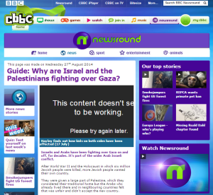 CBBC's 'Newsround' once again misleads 6 to 12 year-olds about Israel