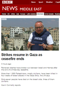 Kevin Connolly joins the BBC's Hamas demands promotion campaign