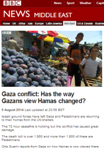 BBC's Guerin promotes Hamas popularity and an 'occupation' which doesn't exist