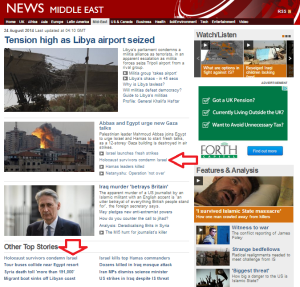 BBC News website promotes the anti-Israel defamation of a fringe racist group