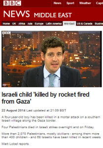BBC News absolves Hamas of truce violation, amplifies its propaganda – and refrains from naming its victim