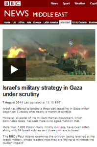 Documenting the BBC contribution to political warfare against Israel – part two