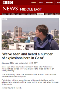 Context-free BBC promotion of Hamas seaport demands