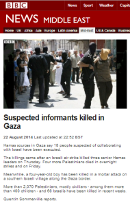 Why did the BBC downplay years of Hamas extrajudicial killings?