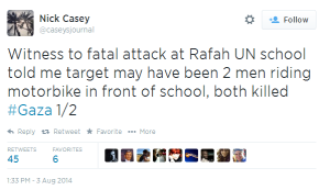 Tweet Casey Rafah
