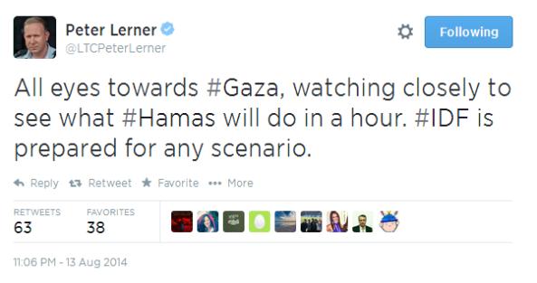 Tweet Peter Lerner 13 8 b