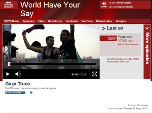 BBC's WHYS promotes Gaza interviewee with a penchant for antisemitic imagery