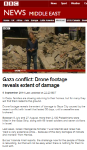 BBC's Knell continues the Gaza border restrictions PR campaign