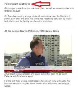 Revisiting the BBC's 2014 reports on Gaza's power plant
