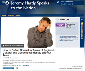 Jeremy Hardy promotes stereotypes of Israelis on BBC Radio 4