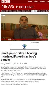 Reynolds Abu Khdeir story