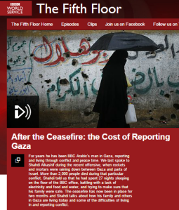 Keeping the (context free) Gaza fires burning on BBC World Service radio