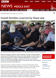 Too little, too late: BBC website feature tries to 'balance' Gaza reporting