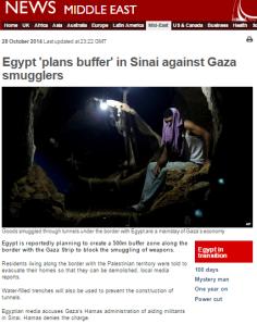 Egypt buffer zone art