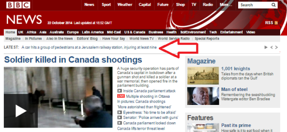 Ambiguous BBC reporting on Jerusalem terror attack