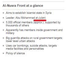 Profile al Nusra sidebox