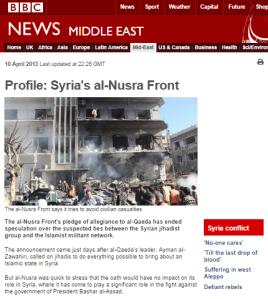 Profile al Nusra