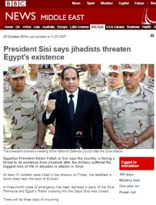 Sinai attacks art
