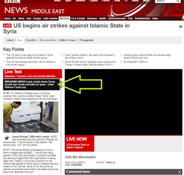 Syrian aircraft infiltration 23 9