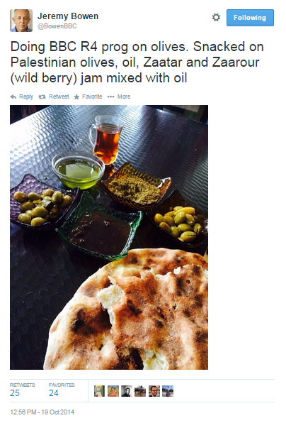 Tweet Bowen olives 1