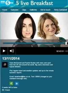 BBC Radio 5 Live Breakfast's massive Middle East mangle
