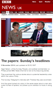 BBC Papers on website