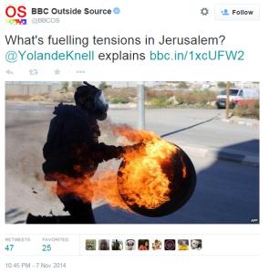 Knell Jerusalem OS tweet