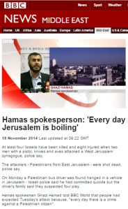 Reviewing the BBC's use of a Hamas interviewee