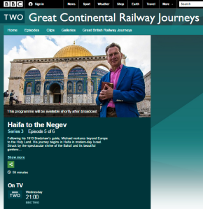 One to watch on BBC Two: 'Haifa to the Negev'