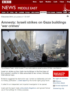 More on the Law of Armed Conflict, Gaza and the BBC