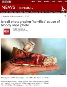 BBC Trending warns of misrepresented photo, BBC correspondent Tweets it