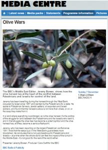 Bowen Olive Wars