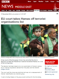 Revisiting BBC reporting on Hamas' EU terror listing