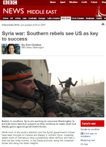 Confusing and conflicting messaging on Jabhat al Nusra in BBC reports