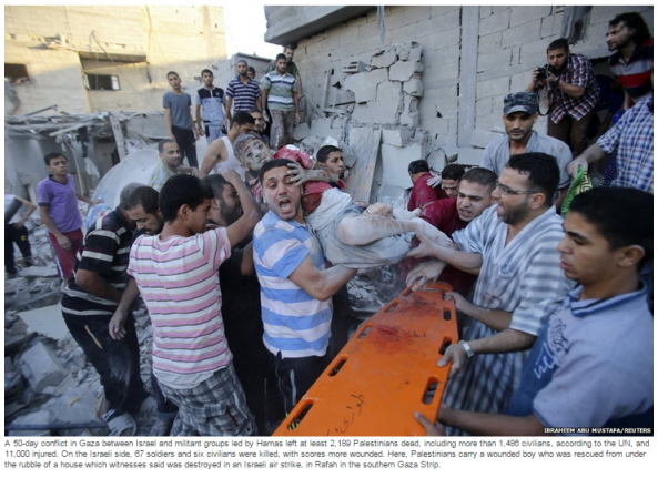BBC's end of year 'In Pictures' feature continues to promote unverified Gaza casualty stats