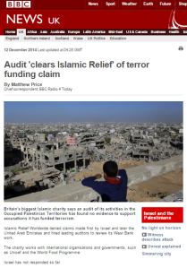 BBC's Matthew Price produces superficial report on charity audit