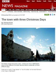 Knell Bethlehem written Mag