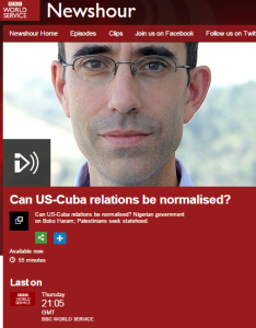 BBC WS fails to inform on political NGO links of interviewee on topic of PA's UNSC bid