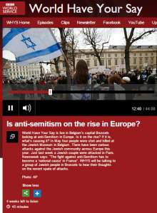Antisemitic comments (again) on BBC WHYS Facebook post… about show on antisemitism