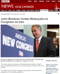 BBC News misrepresents Israeli PM's stance on P5+1 deal with Iran