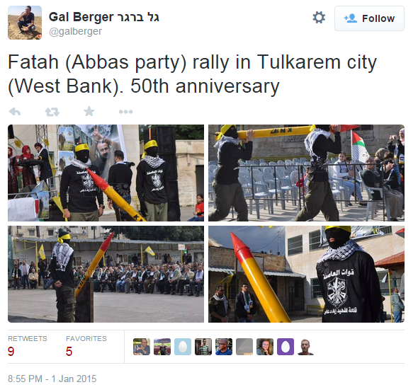 Fatah pics rally