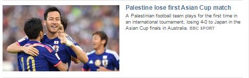 BBC Sport promotes context-free political statements